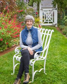 Author Marta McDowell in her home garden. Learn more tomorrow when Marta is my guest Thursday July 7 on Cultivating Place. Link to listen live and podcast: mynspr.org. #cultivatingplace #northstatepublicradio #martamcdowell #timberpress #podcast #whitehousegardens #gardenlife #gardenstories #gardenhistory