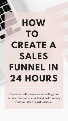 ow to Create A Funnel in 24 Hours - Sell your product or service on autopilot while you sleep! Just set it and watch your business grow! Inbound Marketing, Affiliate Marketing, Email Marketing Strategy, Sales And Marketing, Marketing Digital, Content Marketing, Online Marketing, Business Tips, Online Business