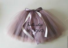 Купить Детская юбка-пачка из еврофатина цвет Тауп - для девочки, юбочка для девочки, юбочка из фатина