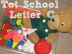 Tot School Printables Letter C is for Cat from Wildflower Ramblings #totschool