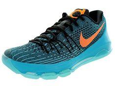 "Nike KD 8 ""OKC Thunder"" Men s Basketball Shoes 749375-480 Blue Lagoon 12. Kevin  Durant ... 00bd984bfe5"