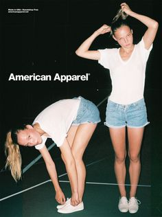 I love american apparel ads... and anything from american apparel in general