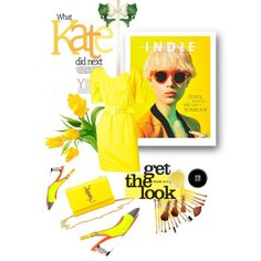 How To Wear Spring Yellow Fun Outfit Idea 2017 - Fashion Trends Ready To Wear For Plus Size, Curvy Women Over 20, 30, 40, 50