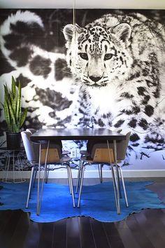 casa de fifia blog de decoração : PAREDE PROTAGONISTA