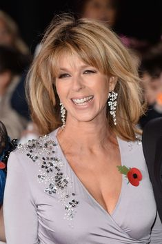 Kate Garraway Photos - Kate Garraway attends the Pride of Britain Awards 2018 at The Grosvenor House Hotel on October 2018 in London, England. - Pride Of Britain Awards 2018 - Red Carpet Arrivals Beautiful Old Woman, Gorgeous Women, Beautiful Females, Stunning Girls, Classic Actresses, Beautiful Actresses, Kate Galloway, Animatrices Tv, Pride Of Britain