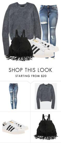 """Autumn outfit"" by eliska-balinova ❤ liked on Polyvore featuring Talula and adidas Originals"