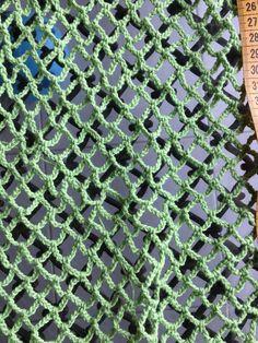 Patrón bolsa red de ganchillo - Costurea Blog Crochet Market Bag, Love Crochet, Diy And Crafts, Sweaters, Bags, Ideas, Green Purse, Crochet Pouch, Diy Home