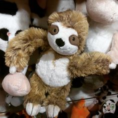 ¡Un #peluche de perezoso! ¡Quieroooooo!  #sloth #softtoys #peluches #pelucheando