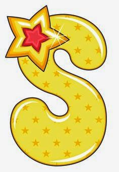 S is for Star, Baby Alphabet Alphabet Letters Design, Alphabet Templates, Alphabet And Numbers, Alphabet Drawing, Alphabet Art, Abc For Kids, Alphabet For Kids, Hand Lettering Art, Lettering Design