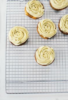 Banana Cupcakes with Banana Buttercream