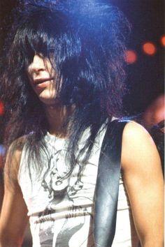 Johnny Thunder's hair