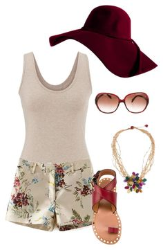 """Untitled #576"" by ay-cr on Polyvore featuring maurices, NOVICA, Oliver Peoples and Isabel Marant"