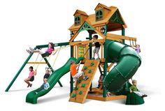 Cedar Swing Set with Timber Shield