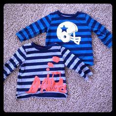 "Selling this ""Baby boy long sleeve shirts"" in my Poshmark closet! My username is: whitz98. #shopmycloset #poshmark #fashion #shopping #style #forsale #Tops"