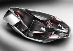 SPD - Concept Car Interior Design Sketches