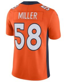 Nike Men s Von Miller Denver Broncos Vapor Untouchable Limited Jersey -  Orange M b4249458f