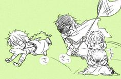 Akatsuki no Yona / Yona of the dawn anime and manga || kingdom of Xing Voldo, Princess Tao and Argila kittens