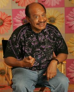 July Sherman Hemsley, actor (All in the Family, The Jeffersons, Fresh Prince of Bel Aire, Amen) Black Actresses, Black Actors, Black Celebrities, Actors & Actresses, Celebs, Sherman Hemsley, Soul Train Dancers, Black Royalty, Black Comics