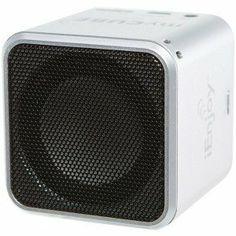 Ienjoy Mycube2 Bluetooth Speaker (silver)  Price : $23.66 http://www.yamabay.net/Ienjoy-Mycube2-Bluetooth-Speaker-silver/dp/B00EJU12Q8