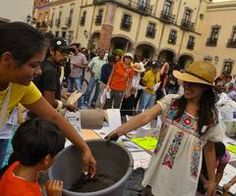 seedball attack the city of queretaro | via Facebook