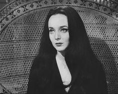- Carolyn Jones best known as Morticia Addams of the Addams Family Television Series. The Addams Family 1964, Addams Family Tv Show, Adams Family, Morticia Addams, Long Straight Black Hair, Caroline Jones, I Dream Of Genie, Tv Movie, Movies