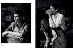'Monday' Saskia de Brauw by Annemarieke van Drimmelen for The Gentlewoman No.9 SS 2014