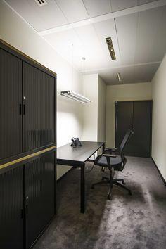 BACARDI BELGIUM #new headquarters DARK® #lighting #office #project at Vilvoorde BE [www.bacardi-martini.be] Office Lighting, Bacardi, Light Project, Martini, Light In The Dark, Belgium, Table, Projects, Furniture