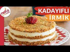 Sütlü kadayıf tatlısı sevenler birde bu kolay tatlı tarifini denesinler. Sarı gelinin sarı tatlısı daha tadına bakmadan görüntüsü ile gözleri şenlendiren bir tatlı tarifi. Sütlü tatlı oldukça hafif bir tatlı. Üzerinde ve ortalarında sıra halinde bulunan, altın sarısı, çıtır çıtır kadayıfı ile, ağızda dağılan, Turkish Recipes, Ethnic Recipes, Appetisers, Iftar, Vanilla Cake, Tiramisu, Food And Drink, Healthy Eating, Yummy Food