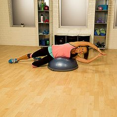 Kiss Your Love Handles Goodbye With This BOSU Workout