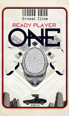 Norwegian cover for Ready Player One.
