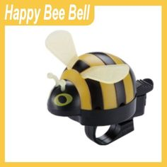 Happy Bee Bicycle Bell (YELLOW) by Firstway. $7.92. Red & Yellow. Cute & durable. It fits 21.7mm to 26mm handlebars. Installs easily on handlebars. Rainproof. Bicycle bell with bee style.  What great gift idea! Don't miss out on this unique bicycle bell.