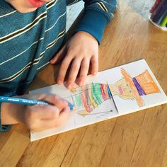 A book filled with hilarious and silly tangle art and drawing games for kids. Creative ways to help kids get in touch with their inner artist.