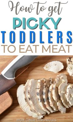 Have a picky eater toddler? Here's how to get picky toddlers to eat meat. Use these tips to improve their toddler nutrition and incorporate them into your toddler meal ideas. You definitely need these mom hacks for toddlers and eating! Toddler Meals, Kids Meals, Pulled Chicken Recipes, Toddler Nutrition, Honey Ham, Hidden Vegetables, Canned Chicken, Mom Hacks, Picky Eaters