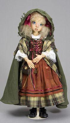 A beautiful doll by Kaye Wiggs