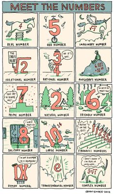 Meet the Numbers  Critters + imagination + math = stuff that makes sense for the first time in my life.
