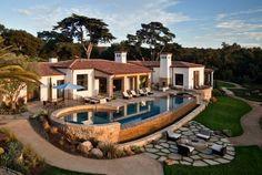 Traditional Hope Ranch Estate Hiding Modern Amenities in Santa Barbara, USA
