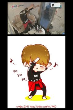 Kris Exo showtime lol I luv kris he is just so cute and adorable!!!!! Anyone else think so??