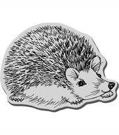 Stampendous Cling Rubber Stamp-Hedgehog