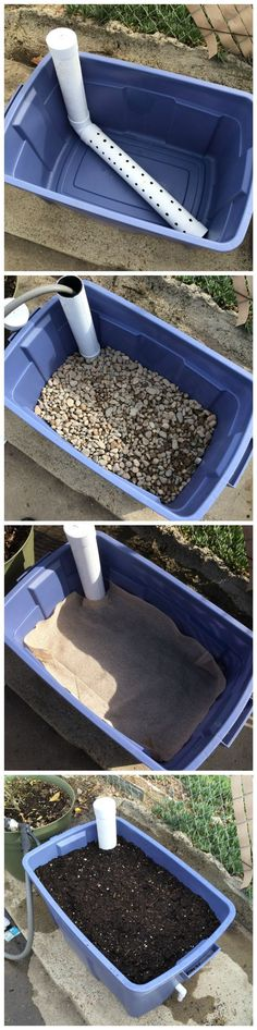 DIY Wicking Bed Container Gardening How does it work? - DIY Wicking Bed Container Gardening How does it work? Hydroponic Gardening, Hydroponics, Container Gardening, Organic Gardening, Gardening Tips, Aquaponics System, Aquaponics Diy, Vegetable Gardening, Gardening Gloves