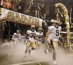 attend a New Orleans Saints game