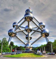 The Atomium ‒ Brussels, Belgium
