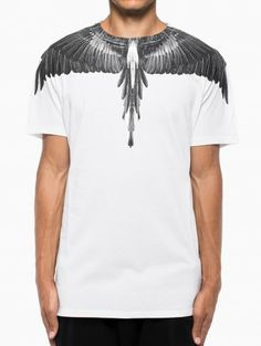 Alas t-shirt from the F/W2013-14 Marcelo Burlon County of Milan collection in white.