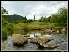 "Glendalough, one of the great ""thin places"" of Ireland."