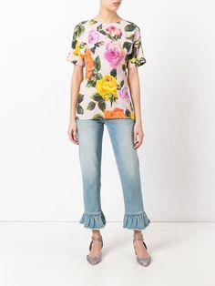 Camiseta Dolce Gabbana Rosa - Especial Blusas e Tops | Coquelux