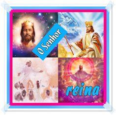 TODA  HONRA  E  GLÓRIA  AO  SENHOR  JESUS: O SENHOR REINA