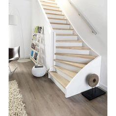 Marche rénovation pour escalier 1/4 tournant