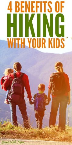 The greatest benefit of hiking with kids is the opportunity to spend focused time with them. Make lasting memories, rely on each other to climb hills, and build trust that will carry them forward for years to come. Hiking With Kids, Travel With Kids, Family Travel, Hiking Tips, Hiking Gear, Hiking Food, Hiking Backpack, Camping Tips, Hiking Training