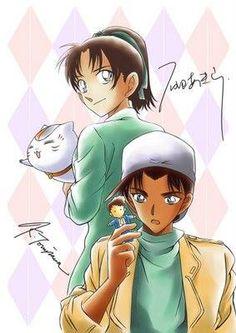 --Hattori Heiji and Kazuha--