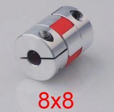 "12.7mm x 15mm 1//2/"" Flexible Jaw Spider Shaft Coupling CNC Stepper Motor Coupler"