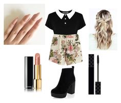 """""""just cuz"""" by ixxy13 on Polyvore featuring VILA, New Look, Chanel, Gucci and cute"""